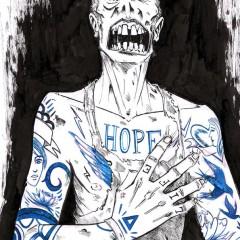 Zombie tatoué - 2013