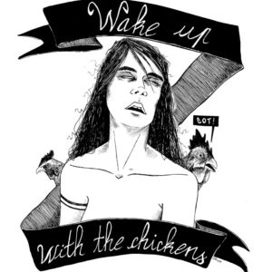 I feel like a zombie when I wake up with the chikens - 2013