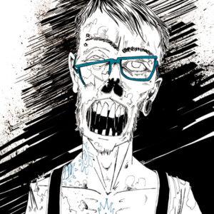 Hypster Zombie -2015
