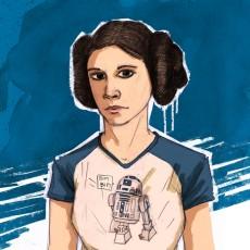 Princesse Leia - A4/A5