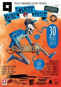 2015 - Affiche Politic Skate FEst