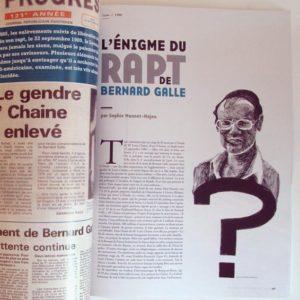 Le rapt de Bernard Galle