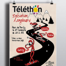 Téléthon Longboard
