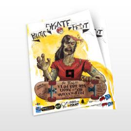 Affiche Politic Skate Fest 2014
