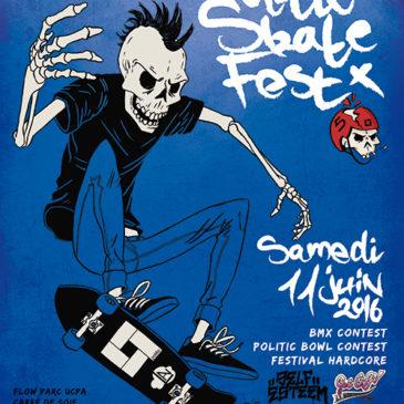 Affiche Skate Fest 2016