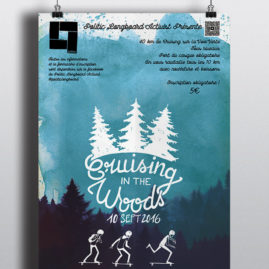 Affiche Cruising in the Woods